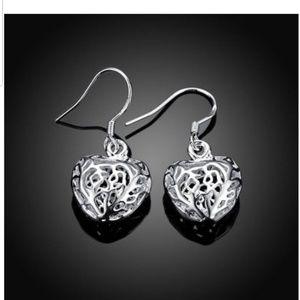 Jewelry - Dainty Heart Shapped Earrings